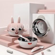 아기그릇 숟가락 세트